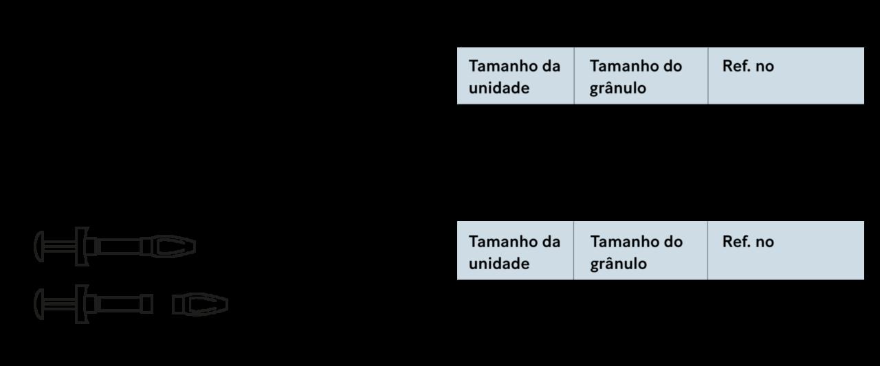 Bonalive granules Especificações_PT
